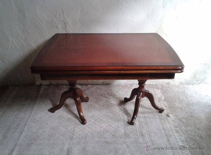 elegante mesa de salón. mesa inglesa, mesa anti - Kaufen Antike ...