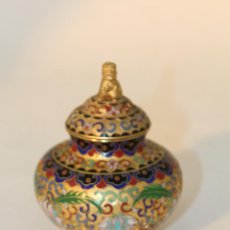 Antigüedades: TIBOR JOYERO CAJA DE LATON. Lote 95721126