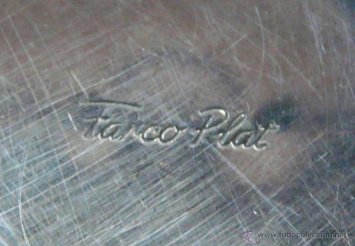 Antigüedades: PEQUEÑO CENTRO DE MESA PARA FRUTOS SECOS - EL ASA EN FORMA DE CISNE / PLATERO FARCO PLATE - Foto 2 - 54528651