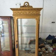Antigüedades: VITRINA DE ESTILO IMPERIO . Lote 54533775