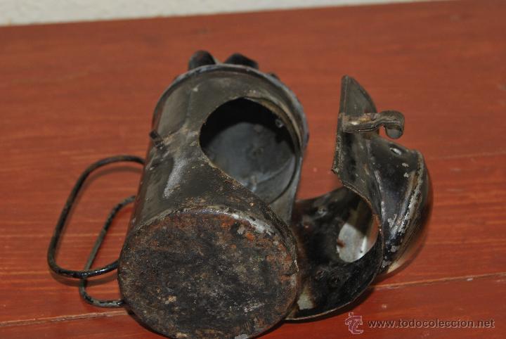 Antigüedades: PEQUEÑO FAROL FERROVIARIO - FAROLILLO TREN - LINTERNA - PP S.XX - Foto 10 - 54545131