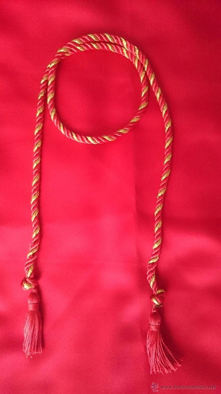 CINGULO O FAJIN VIRGEN O IMAGEN (Antigüedades - Religiosas - Ornamentos Antiguos)
