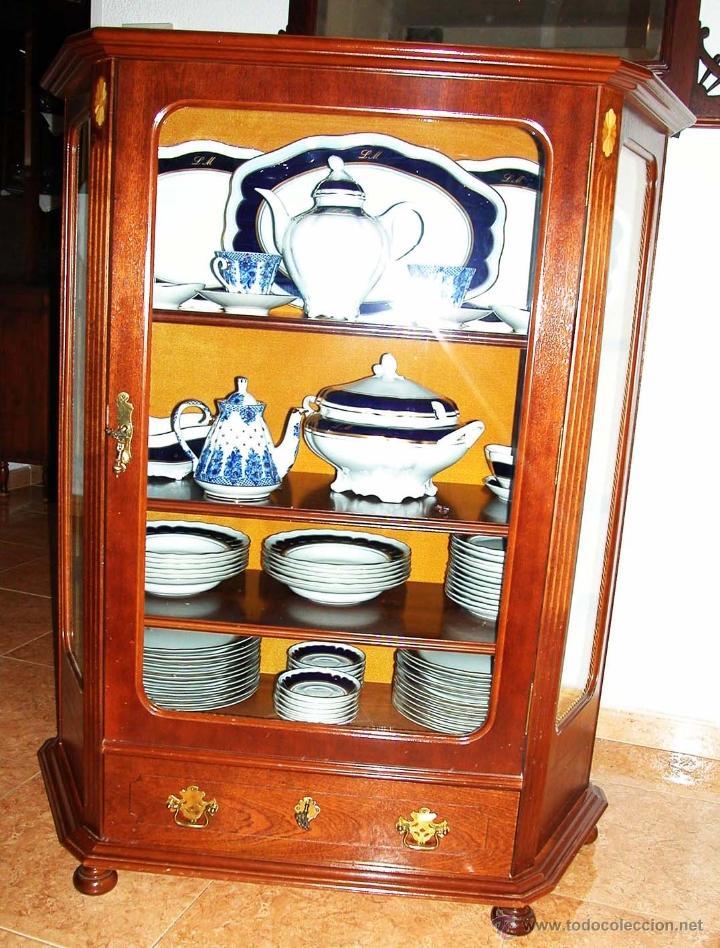 Mueble vajilla carlos iv en porcelana de bida comprar botijos jarras nforas y otras - Muebles para vajilla ...