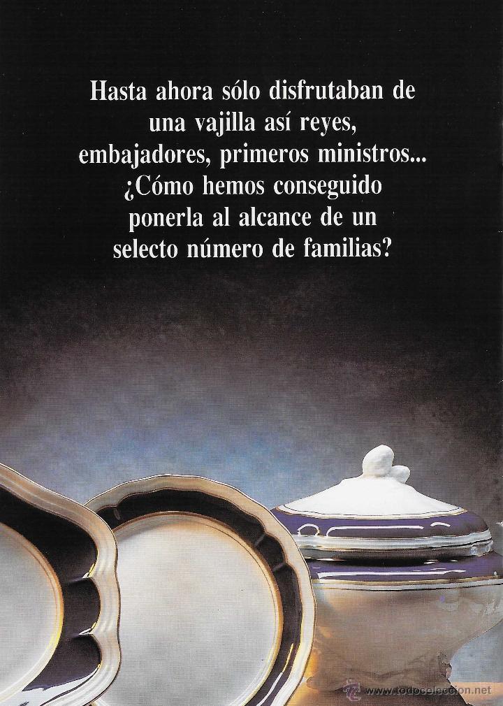 Antigüedades: MUEBLE - VAJILLA CARLOS IV EN PORCELANA DE BIDASOA - Foto 10 - 54555700