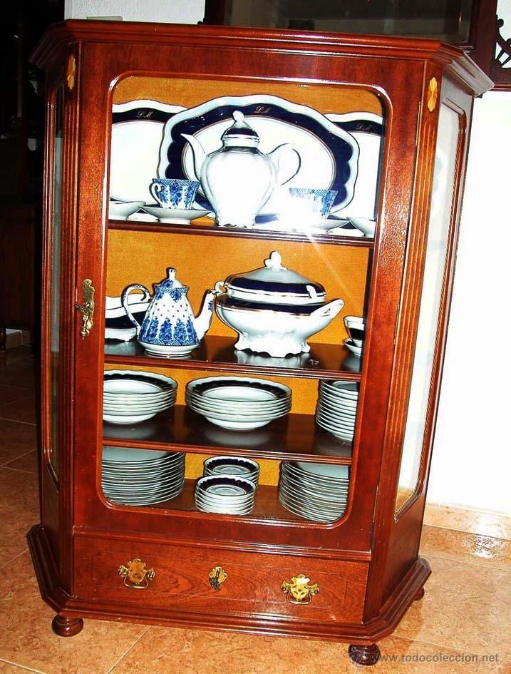 Antigüedades: MUEBLE - VAJILLA CARLOS IV EN PORCELANA DE BIDASOA - Foto 11 - 54555700