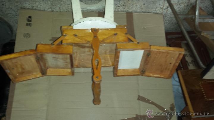 Antigüedades: COSTURERO MADERA - Foto 2 - 54558982
