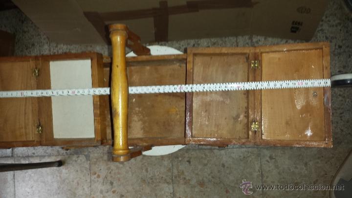 Antigüedades: COSTURERO MADERA - Foto 4 - 54558982