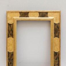 Antiquitäten - Maravilloso marco de madera al oro fino. 45,5 x 58 cm (ver fotos) - 54567099