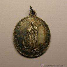 Antigüedades - Medalla religiosa Hijas de Maria, Inmaculada Concepción. - 54567893