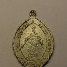 Antigüedades: MEDALLA RELIGIOSA VIRGEN DE LA CINTA, TORTOSA.. Lote 218556435