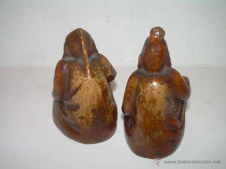 Antigüedades: ANTIGUAS Y RARISIMAS PAREJA FIGURAS DE CERAMICA....EROTICAS..VER FOTOS.....SIGLO XIX. - Foto 3 - 54571985