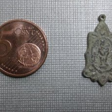 Antigüedades: ANTIGUA MEDALLA RELIGIOSA VIRGEN. Lote 54574486