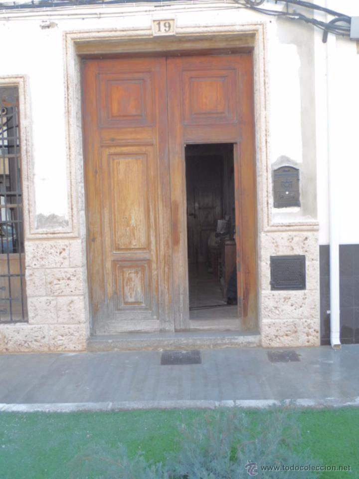 Puerta De Casa Antigua Madera Mobila Grandes Puertas Antiguas
