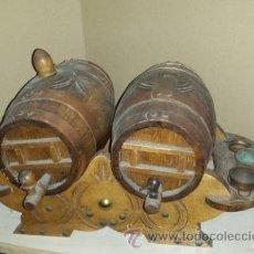 Antigüedades: BARRICAS DECORATIVAS. Lote 54595849