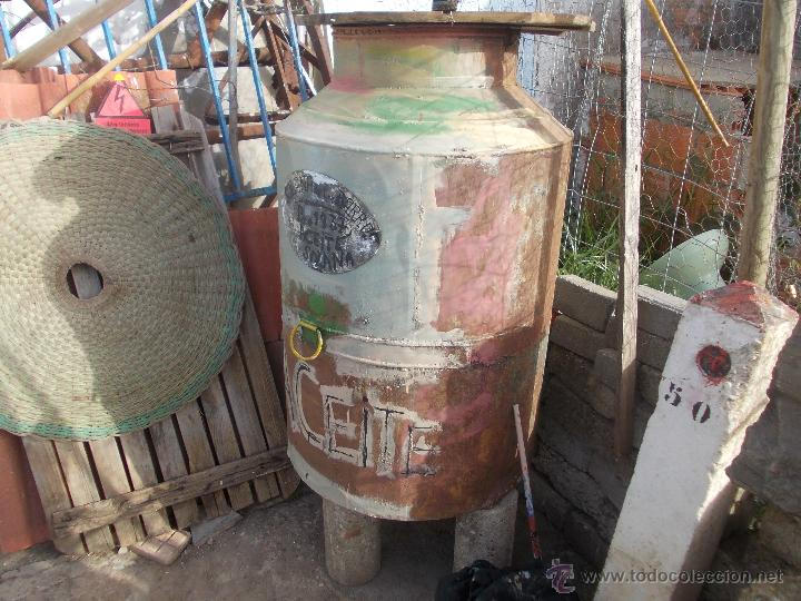 Antigüedades: zafra de la aceite antigua - Foto 4 - 50597472