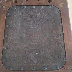 Antigüedades: ANTIGUO ASIENTO DE SILLA 32X31CM. Lote 54608035