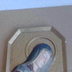 Antigüedades: ESCULTURA RELIGIOSA FORMA CUADRADA. Lote 54613427