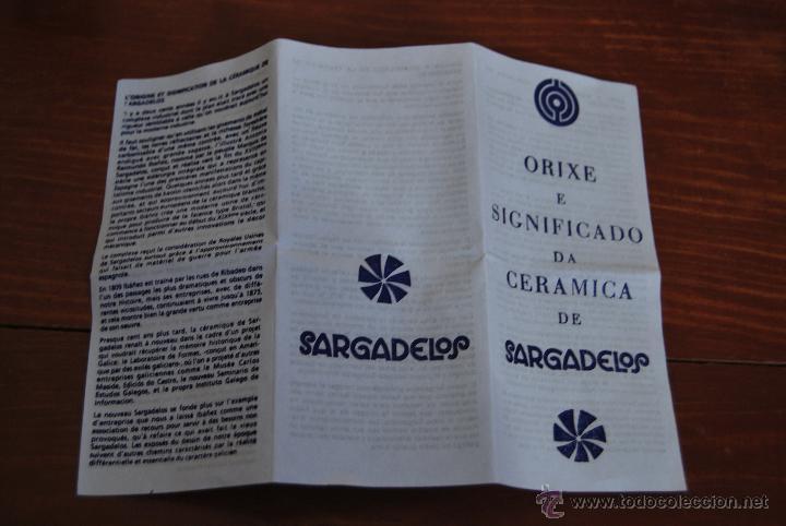 Antigüedades: SARGADELOS - FIGURA EXPOSICION MUNDIAL DE LA PESCA - VIGO 1997 - WORLD FISHING EXHIBITION - Foto 5 - 54626089