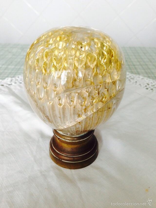 BOLA DE BALCÓN (Antigüedades - Cristal y Vidrio - Otros)