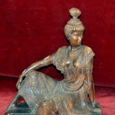 Antigüedades: PRECIOSA FIGURA ORIENTALISTA EN TERRACOTA DE LOS AÑOS 30. ART-DECO. Lote 54632207