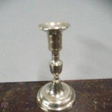 Antigüedades: PORTAVELAS DE BRONCE DE LOS AÑOS 40. Lote 54636385
