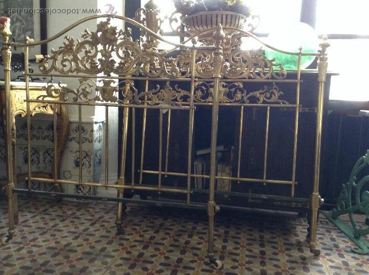Pareja de cabeceros de metal comprar camas antiguas en - Cabeceros cama antiguos ...