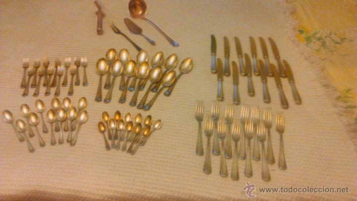 Cuberter a ba ada en plata marca bsf platura comprar ba ado en plata antigua en todocoleccion - Cuberteria de plata precios ...