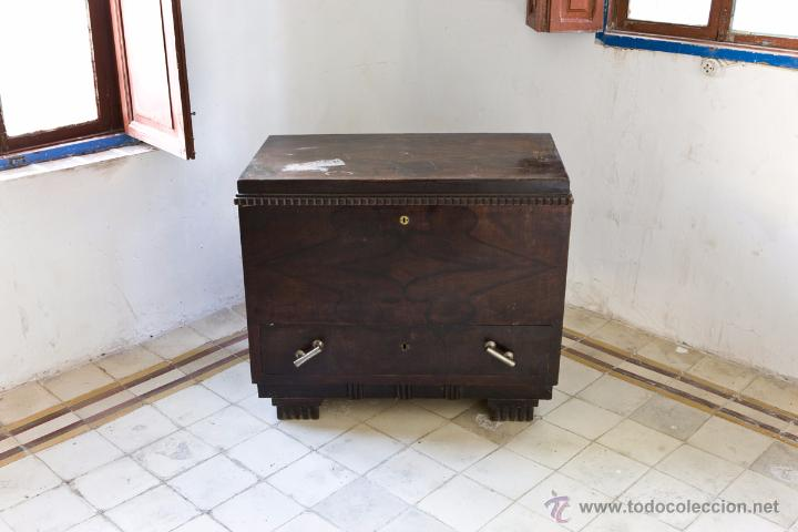 FANTÁSTICO BAÚL ARDECO LEER DESCRIPCIÓN (Antigüedades - Muebles Antiguos - Baúles Antiguos)