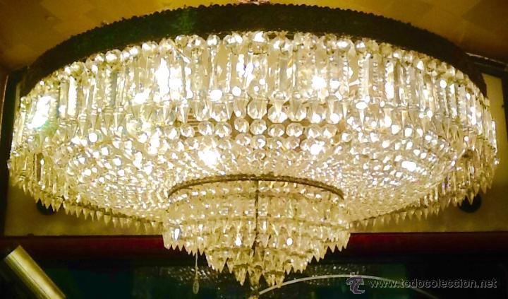 LAMPARA / TECHO (Antigüedades - Iluminación - Lámparas Antiguas)