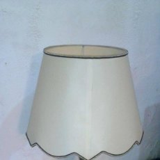 Antigüedades: LAMPARA PIE SALON VINTAGE GRAN TULIPA METALICA. Lote 54642066