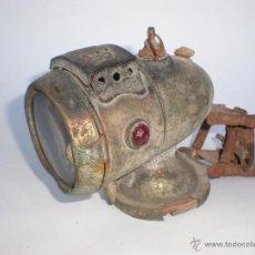Antiquitäten - *LAMPARA-FAROL-LINTERNA* DE CARBURO PARA BICICLETA MARCA *BAUER* PRINCIPIOS DE 1900, ALEMANA - 54642564