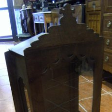 Antigüedades: VITRINA PARA SANTO ESPAÑOLA S. XIX. Lote 54646290