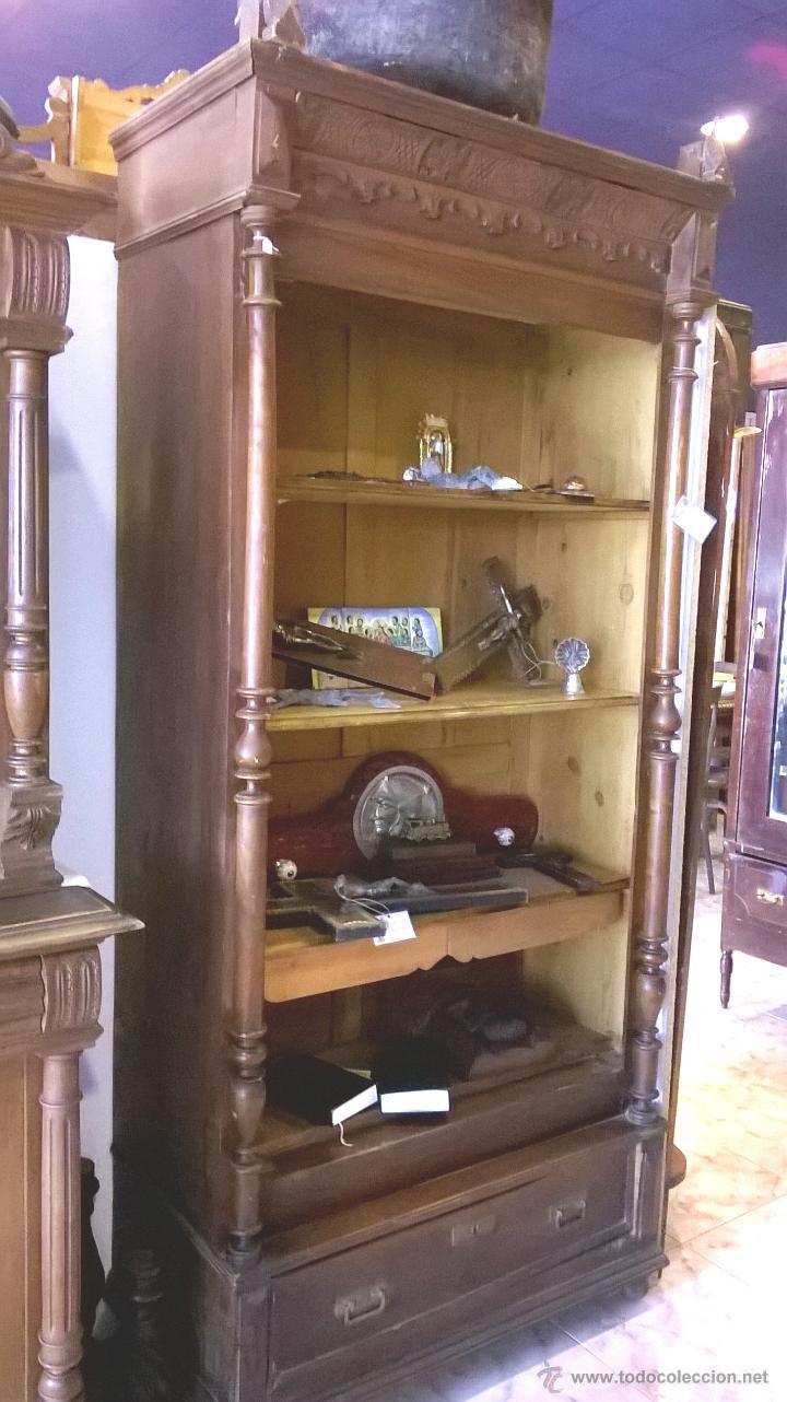 Precioso Mueble Estanteria Comprar Armarios Antiguos En  # Muebles Nauticos Antiguos