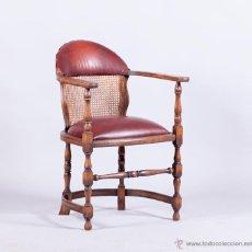 Antigüedades: SILLÓN DE BARBERIA. Lote 54648059