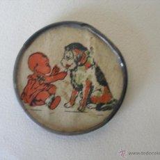 Antigüedades: ESPEJITO INFANTIL DE NIÑA O MUÑECA AÑOS 20 - 30. Lote 39418171