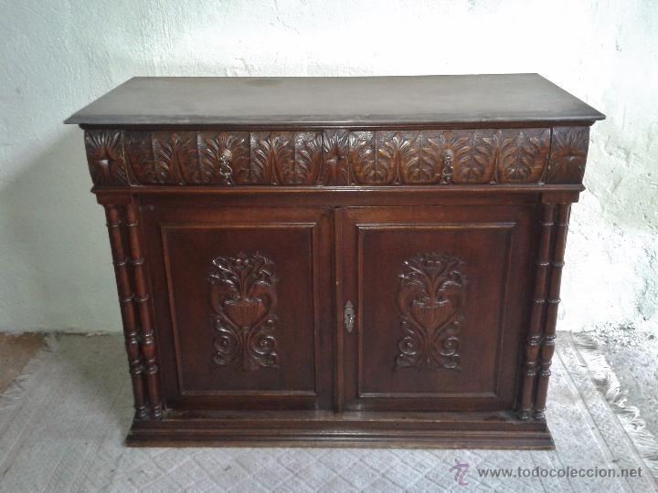 Aparador antiguo estilo alfonsino mueble auxili comprar aparadores antiguos en todocoleccion - Muebles estilo antiguo ...