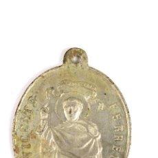 Antigüedades: M-577. MEDALLA BIFAZ ASOCIACION DE S.VICENTE FERRER DE LA CALLE DEL MAR. VALENCIA.. Lote 54667182
