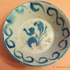 Antigüedades: ANTIGUO LEBRILLO FUENTE CERAMICA FAJALAUZA SIGLO XIX. Lote 54679464