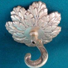 Antigüedades: FLORON DE BRONCE DORADO PARA COLGAR LAMPARA. ANTIGUO. PRINCIPIOS DEL S. XX.. Lote 54685949