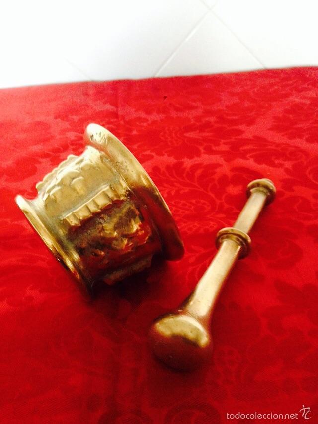Antigüedades: Almiréz en bronce - Foto 3 - 54688748