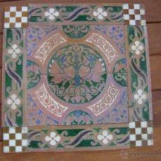 Antigüedades: COMPOSICION DE AZULEJOS (TRIANA). Lote 54697441