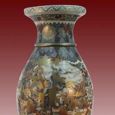 Antigüedades: TIBOR-ORIENTAL-PORCELANA-JAPONESA-SATSUMA. Lote 54721729