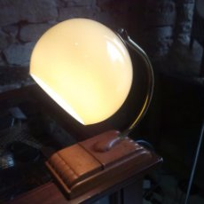 Antigüedades: LAMPARA DE SOBREMESA ART DECO. Lote 54724203
