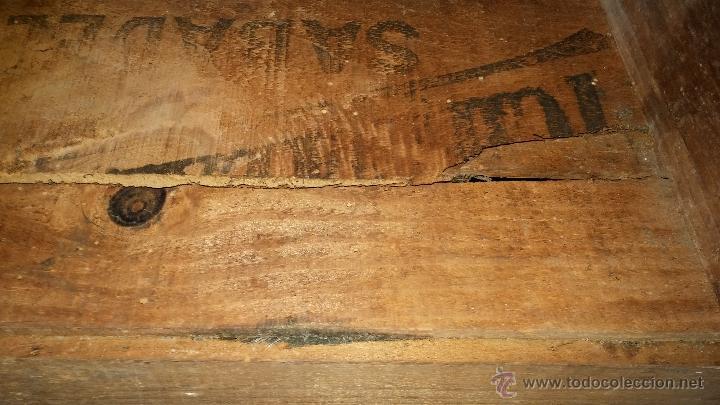 Antigüedades: Escritorio antiguo artesanal - Foto 2 - 54731212