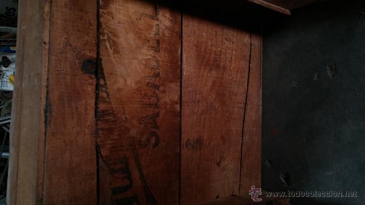 Antigüedades: Escritorio antiguo artesanal - Foto 8 - 54731212