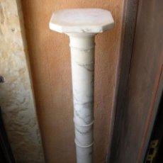 Antigüedades: PEDESTAL DE ALABASTRO.. Lote 79295257