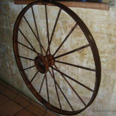 Antigüedades: RUEDA DE HIERRO. Lote 54732595