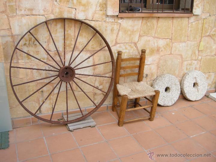 Antigüedades: Rueda de hierro - Foto 2 - 54732595