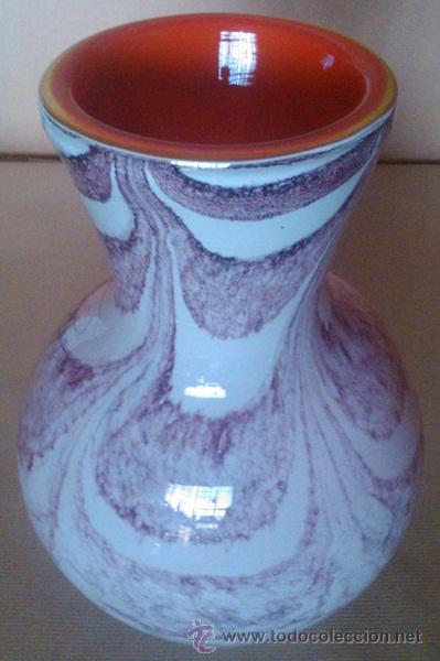 FLORERO EN CRISTAL MURANO (Antigüedades - Cristal y Vidrio - Murano)