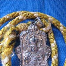 Antigüedades: SEMANA SANTA SEVILLA - MEDALLA CON CORDON DE LA HERMANDAD DE LA MACARENA . Lote 54740176